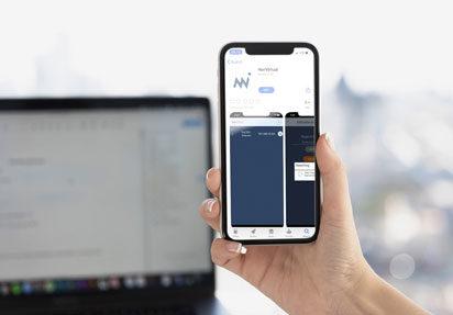 Last ned NorVirtual App fra Google Play eller Apple Store